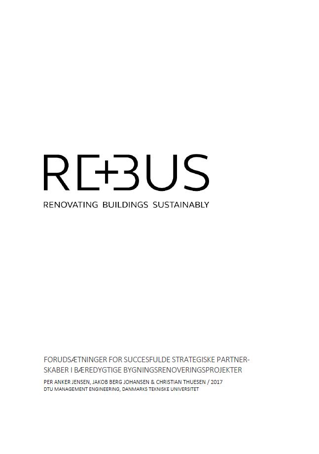 REBUS - Forudsætninger for SP rapport